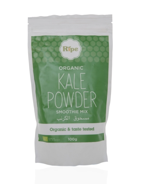 Kale powder, Ripe