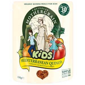 Kids Mediterranean Quinoa, Quinoa Mothergrain