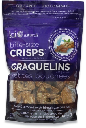 Kii naturals date and almond crisps