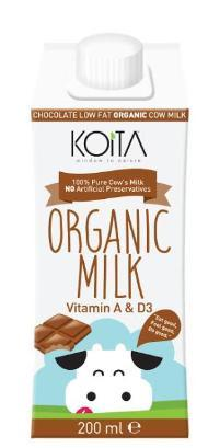 Koita Chocolate Milk 200ml Ripe Organic