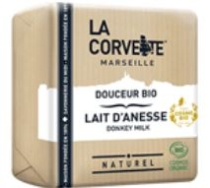 LA CORVETTE MARSEILLE DONKEY MILK SOAP 100G