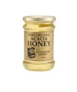 LITTLE OVER ORGANIC WILDFLOWER HONEY  340G