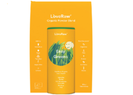 Organic Easy Greens Powder Blend, Love Raw