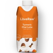 Turmeric Chai Latte Almond Drink, Love Raw