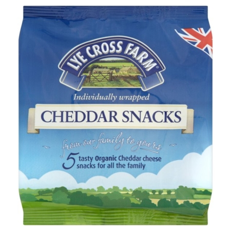 LYE CROSS CHEDDAR SNACKS 8X5X20G