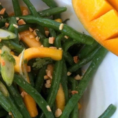 Mango and Green Bean Salad