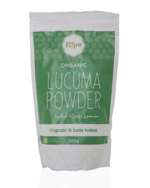 Lucuma powder, Ripe