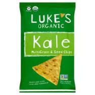 Kale Multigrain & Seed Chips, Luke's Organic