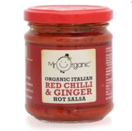 MR ORGANIC CHILL GINGER SALSA 200G