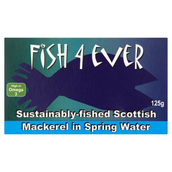 Mackerel in Spring Water, Fish 4 Ever