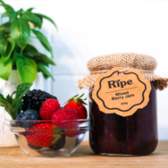 RIPE SPREAD MIXED BERRIES 220G