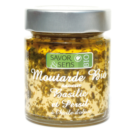 Mustard Basil and Parsley, Savor et Sens