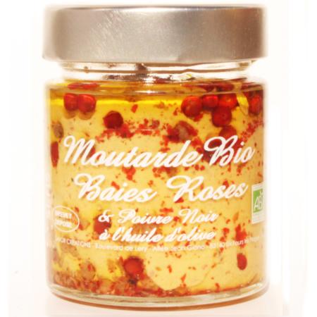 Mustard Black Pepper and Pink, Savor et Sens