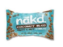 Coconut Bliss Nibbles, Nakd