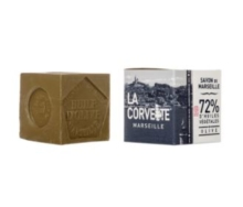 LA CORVETTE MARSEILLE 72% OLIVE OIL SOAP CUBE 500G