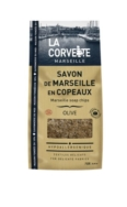 LA CORVETTE MARSEILLE 72% OLIVE OIL LAUNDRY SOAP CHIPS 750G