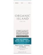 ORGANIC ISLAND NOURISHING REPAIR CREME NIGHT 50ML