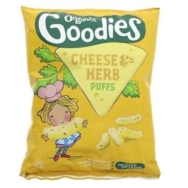 Cheese & Herb Curly Puffs, Organix