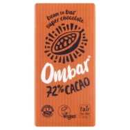 OMBAR 72% DARK CHOCOLATE 35G