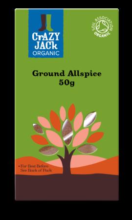 Organic Allspice, Crazy Jack