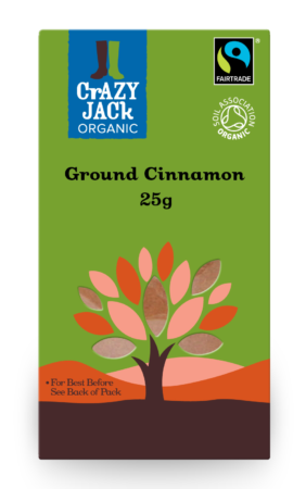 Organic Cinnamon Ground, Crazy Jack