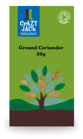 Organic Coriander Ground, Crazy Jack