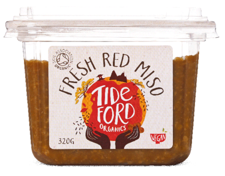 Organic Fresh Red Miso Soup, Tideford
