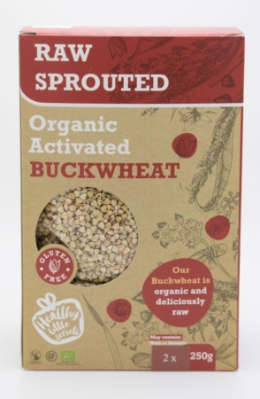 Organic Raw Sprouted Buckwheat, Healthy Little Secrets