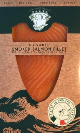 Organic Smoked Salmon, Gourmet House