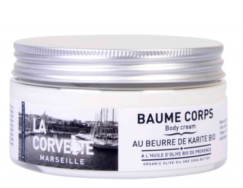 Organic Shea Butter Body Cream, La Corvette Marseille