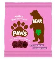 BEAR PAWS APPLE AND BLACKCURRANT 20G