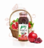 ALMA ORGANIC POMEGRANATE JUICE 250ML