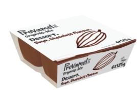 PROVAMEL ORGANIC CHOCOLATE DESSERT 4X125G
