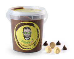 Choco-Hazelnut Dark Butter 150g, Papanut
