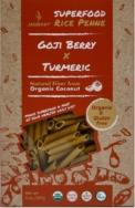 Organic Rice Penne Turmeric & Goji, Jasberry