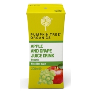 Apple Grape Juice, Pumpkin Tree Organics