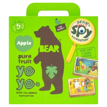 Pure Fruits Apple, Yoyo Bear 100g