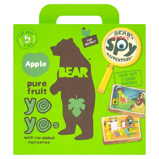 Pure Fruits Apple, Yoyo Bear 100g