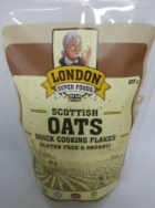 LONDON SUPERFOODS QUICK COOKING OAT FLAKES 250G
