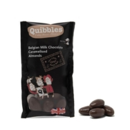 Belgian Milk Chocolate Caramelised Almond, Quibbles