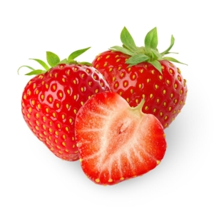 Ripe Organic Strawberries