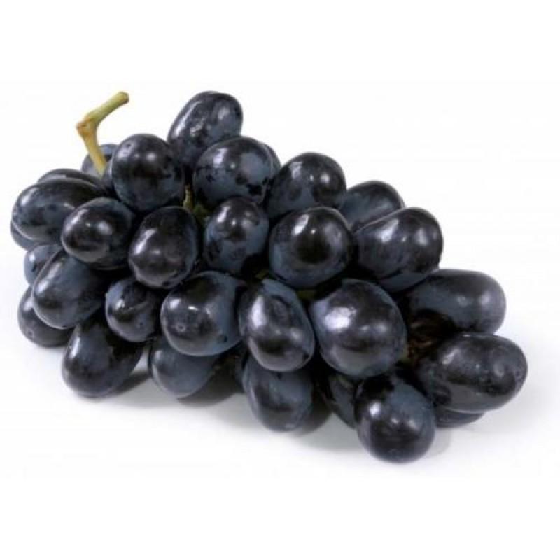 Ripe Organic Black Grapes
