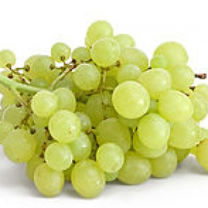 Ripe Organic Grapes Green