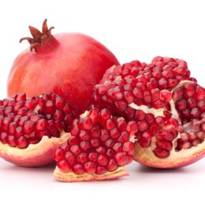 Ripe Organic Pomegranates