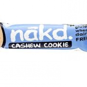 Ripe Organic Healthy Snacks Nakd Cashew Cookie nut bar