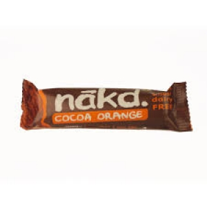 RIPE ORGANIC-NAKD COCAO ORANGE BAR 35G
