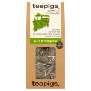 RIPE ORGANIC- Teapigs, Organic Tea Leaves Pure Lemongrass Available in Dubai and Abu Dhabi, UAE