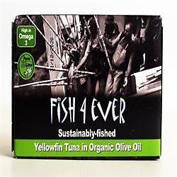 Ripe Organic - Yellow Fin Tuna in Brine