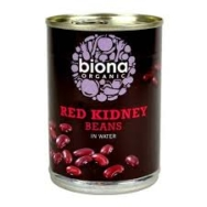 Red Kidney Beans (Tinned), Biona