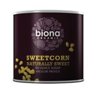 Sweetcorn (Tinned), Biona